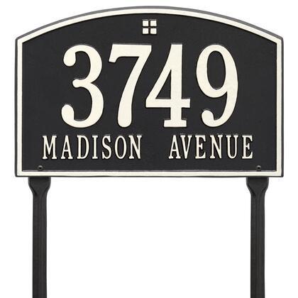 Whitehall Products 1178BW Address Plaques, Main Image