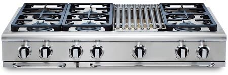 Capital Precision GRT486BL Gas Cooktop Stainless Steel, Main Image