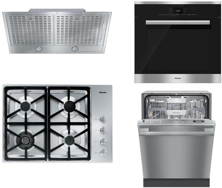 Miele 888370 Kitchen Appliance Package & Bundle Stainless Steel, 888370
