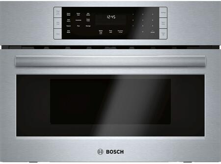 Bosch 800 Series HMC87152UC Single Wall Oven Stainless Steel, Main Image