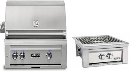Viking 5 Series 896235 Grill Package Stainless Steel, 1