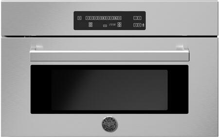 Bertazzoni Professional PROF30CSEX Single Wall Oven Stainless Steel, PROF30CSEX Professional Series Steam Oven