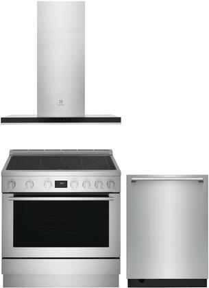 Electrolux  1455739 Kitchen Appliance Package Stainless Steel, Main image