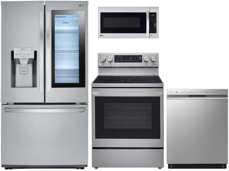 LG  1333014 Kitchen Appliance Package Stainless Steel, Main image