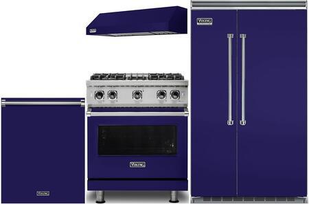 Viking 987537 Kitchen Appliance Package & Bundle Blue, main image