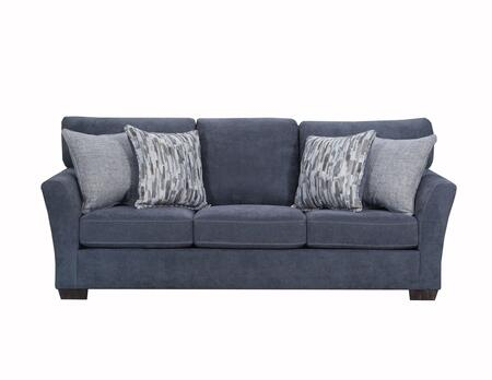 Lane Furniture Pacific 705804QPACIFICSTEEL Sofa Bed Blue, Sofa Bed