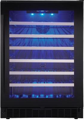 Danby Silhouette Select SSWC056D1B Wine Cooler 26-50 Bottles Black, Main Image