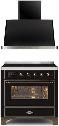 Ilve  1260278 Kitchen Appliance Package Black, Main image