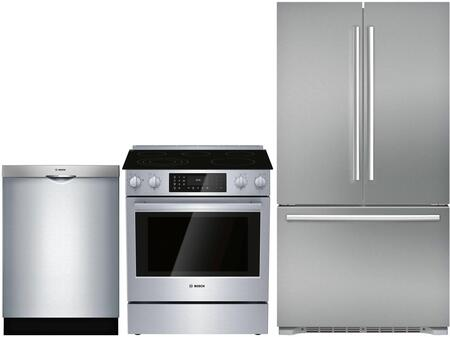 Bosch 1005962 Kitchen Appliance Package & Bundle Stainless Steel, main image