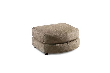 Minnesota Collection 181416-2007-O-HS 35.5″ Bumper Ottoman with Engineered Wood Construction Transitional Style  Homespun Stone Polyester Fabric in