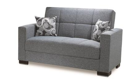 Casamode Armada ARMADALOVESEAT13GRAY26441 Loveseat Gray, Main Image