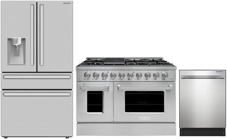 SHARP  1434673 Kitchen Appliance Package Stainless Steel, Main Image