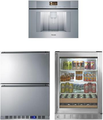 Monogram  1139932 Kitchen Appliance Package Stainless Steel, main image