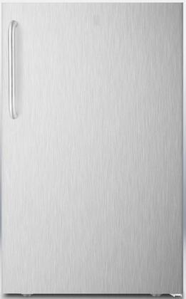 AccuCold CM421BL CM421BLXSSTB Compact Refrigerator Stainless Steel, Main Image