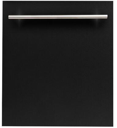 ZLINE  DWBLMH24 Built-In Dishwasher Black, DWBLMH24 Top Control Dishwasher