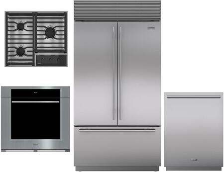 Sub-Zero  1023280 Kitchen Appliance Package Stainless Steel, Main Image