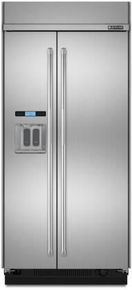 Jenn-Air  JS48PPDUDE Side-By-Side Refrigerator Stainless Steel, Main Image