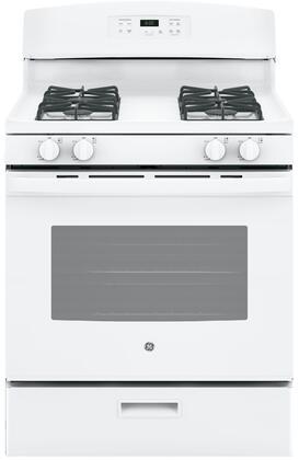 GE JGBS60DEKWW Freestanding Gas Range White, Main Image