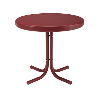 Crosley Furniture GRIFFITH CO1011ARE Outdoor Patio Table Red, Main Image