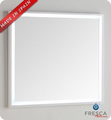 Fresca Platinum Due FPMR7836WH Mirror White, Main Image