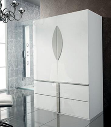 ESF Granada I10915 Wardrobe White, GRANADA2DOORW/D Main Image