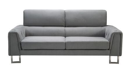 American Eagle Furniture AE2369 AE2369SF Stationary Sofa Gray, main image
