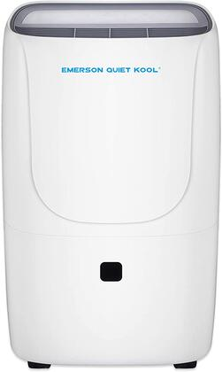 EAD50SEP1T Emerson Quiet Kool 50-Pint Smart Dehumidifier with Built-In Vertical Pump  Continuous Drain Operation  Washable Filter  Electronic Control