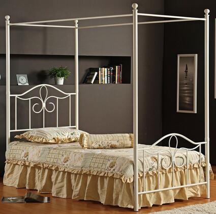 Hillsdale Furniture Westfield 1354BFPR Bed White, 1