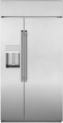 Cafe CSB42YP2NS1 Side-By-Side Refrigerator Stainless Steel, CSB42YP2NS1 Side by Side Refrigerator