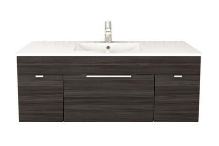 Cutler Kitchen and Bath Textures FVSB48 Sink Vanity Brown, Main Image