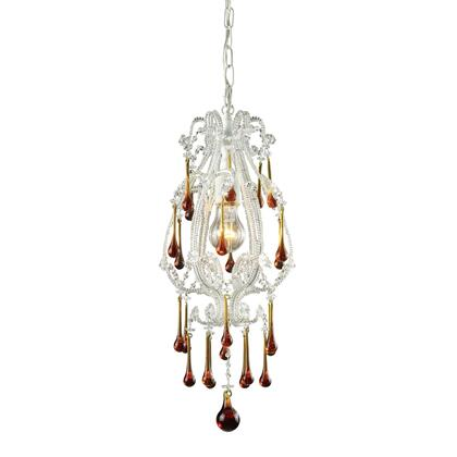 12003/1AMB Opulence 1-Lt Pendant in Antique