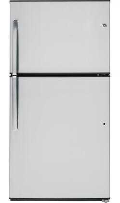 GE  GIE21GSHSS Top Freezer Refrigerator , Front