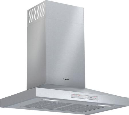 Bosch 500 Series HCP50652UC Wall Mount Range Hood Stainless Steel, Main Image