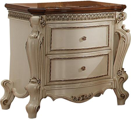Acme Furniture Picardy 26903 Nightstand Beige, 1