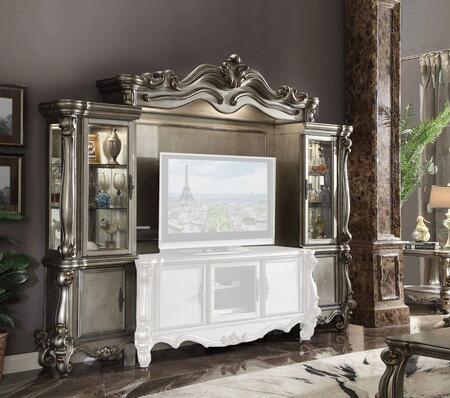 Acme Furniture Versailles 91820 Entertainment Center Platinum, Main Image