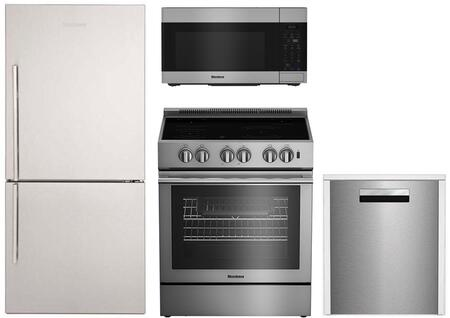 Blomberg  900540 Kitchen Appliance Package Stainless Steel, Main Image