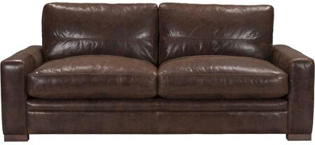 Acme Furniture Modena 54060 Stationary Sofa Brown, 1