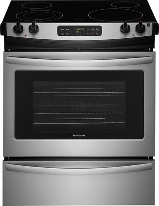 Frigidaire Ffes3026ts 30 Inch Slide In Electric Range With 4