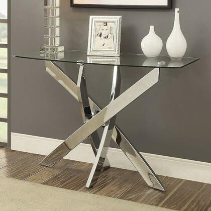Furniture of America Laila CM4241STABLE Sofa Table Silver, Main Image