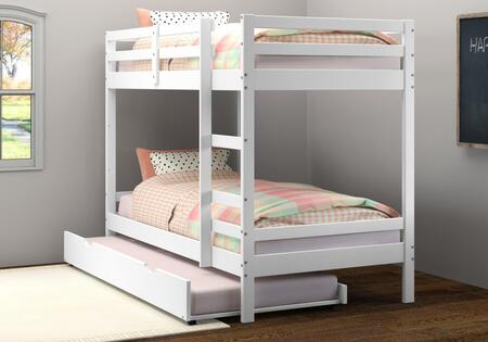 Donco 1573TTW503W Bed White, 1573 TTW 503 W%20(life 01)