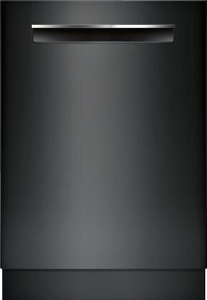 Bosch 500 Series SHPM65Z56N Built-In Dishwasher Black, Front View