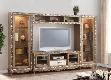Acme Furniture Orianne 91430 Entertainment Center Brown, Entertainment Center