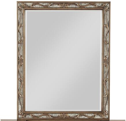 Acme Furniture Orianne 23798 Mirror Gold, Front View