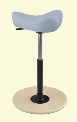 Varier Move Small MOVESMALL2700BREEZEFUSIONBF4601NATSMBLK Office Stool, Main Image
