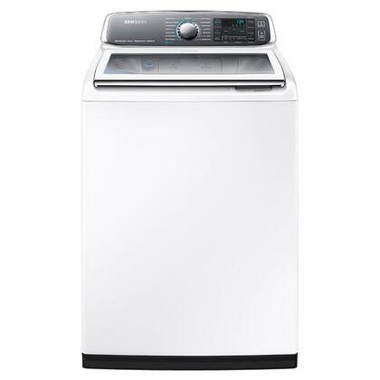 Samsung Wa52j8700aw 27 Inch Top Load Steam Washer With 5 2