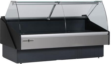 Hydra-Kool  KFMCG120S Display and Merchandising Refrigerator Black, KFMCG120S Fresh Meat Deli Case