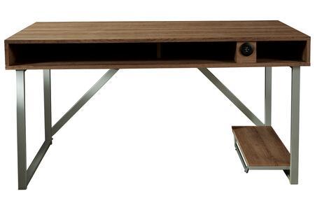 Signature Design by Ashley Barolli H70026 Desk Multi Colored, DL 20ab30854e4ba6122201a554190b