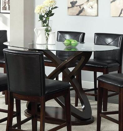 Furniture of America Atenna II CM3774PTTABLE Dining Room Table Brown, main image