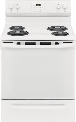 Frigidaire  FCRC3005AW Freestanding Electric Range White, Main Image