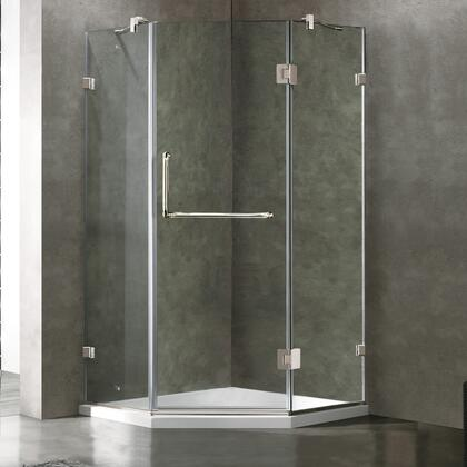 Vigo  VG6062CHCL36WS Shower Enclosure , 1